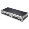 "Diamond Plate Laminate 1/4"" Medium Duty ATA Keyboard Case"