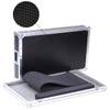 "Diamond Plate Laminate 1/4"" Medium Duty ATA Large Mixer Case"
