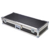 "Diamond Plate Laminate 1/4"" Med Duty ATA Keyboard Case"