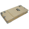 "Crate Style 1/2"" Plywood Supply Trunk - Kit Form - ID 30 3/4 x 14 3/4 x 15 3/4 H"