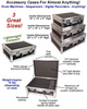 """Accessory ATA Cases for Almost Anything! 1/4"""" Medium Duty - 3 Sizes!"""