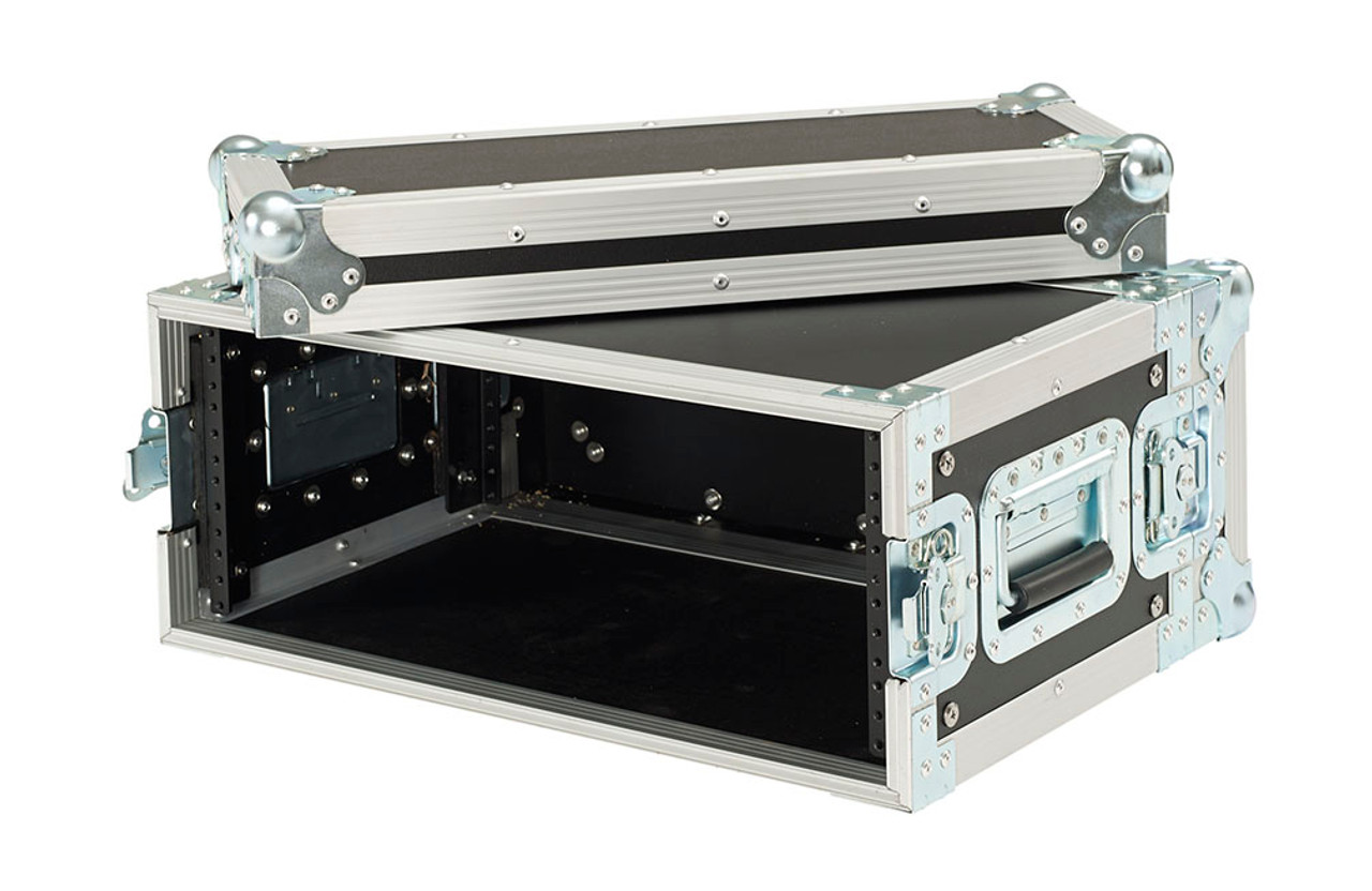 Closeout 2 Space 2u 15 Inches Deep Heavy Duty 3//8 Ply ATA Amp Rack Case