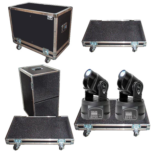 """Moving Head 2 in 1 """"Tray Style"""" ATA Case by Brand & Model"""