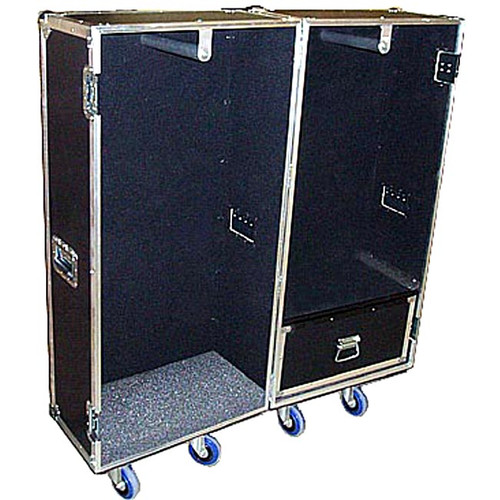 "Wardrobe Heavy Duty 3/8"" Plywood ATA Case - Double w Drawer"