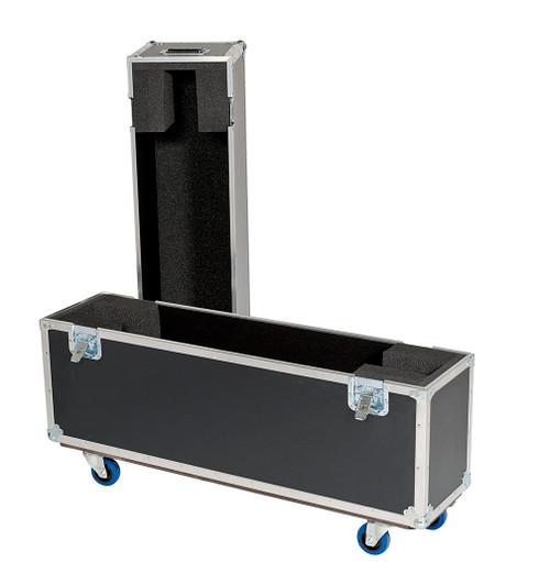 """Custom Single Plasma LCD ATA Cases Heavy Duty 3/8"""" Ply 42"""" - 50"""""""