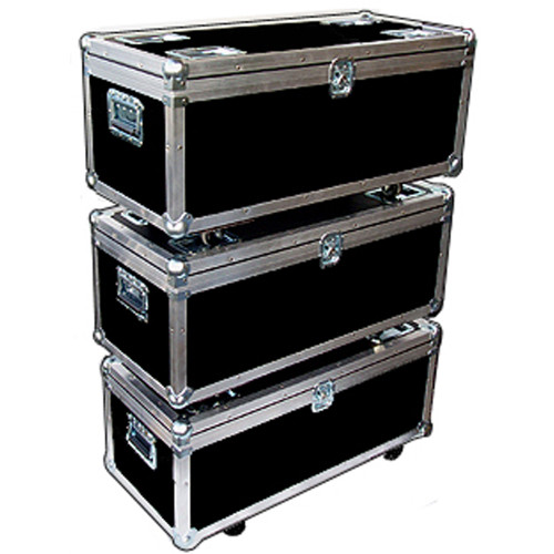 """STACKABLE"" ATA Case - Utility Trunk w/Wheels ID 35x15x13"