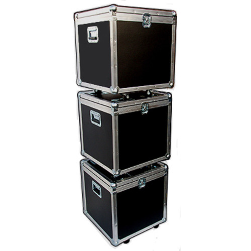 """STACKABLE"" ATA Case - Utility Trunk w/Wheels ID 21x21x21"