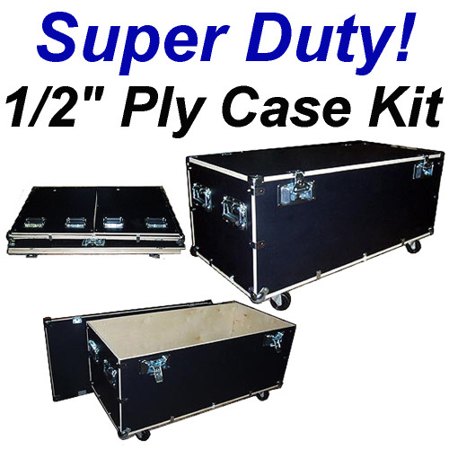 "44"" Cable Trunk Standard Height - Super Duty 1/2"" Ply Case Kit"