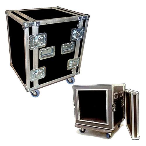 "Shock Racks - 10 Space OR 12 Space - 3/8"" Full ATA Cases w/Wheels"