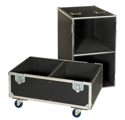 "2 In 1 Speaker - 3/8"" Ply ATA Cases - Deluxe Version - Custom Made!"