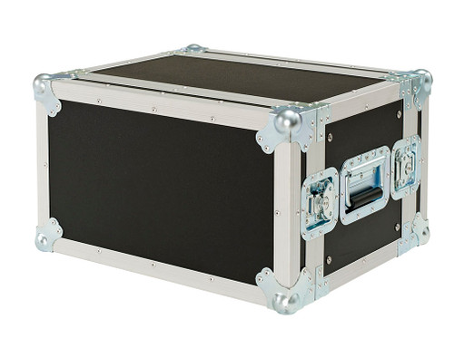 """6 Space 6u 12"""" Deep 3/8"""" Ply ATA Effects Rack Case - CLOSEOUT!"""