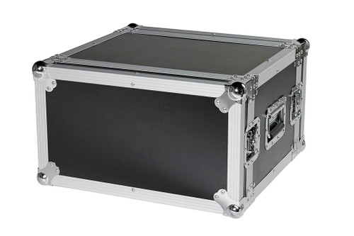 "6 Space 6u 18"" Deep Heavy Duty 3/8"" ATA Amp Rack Case - CLOSEOUT!"