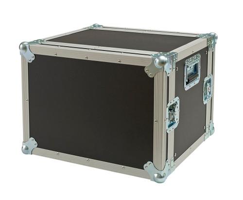 "8 Space 8u 18"" Deep Heavy Duty 3/8"" ATA Amp Rack Case"