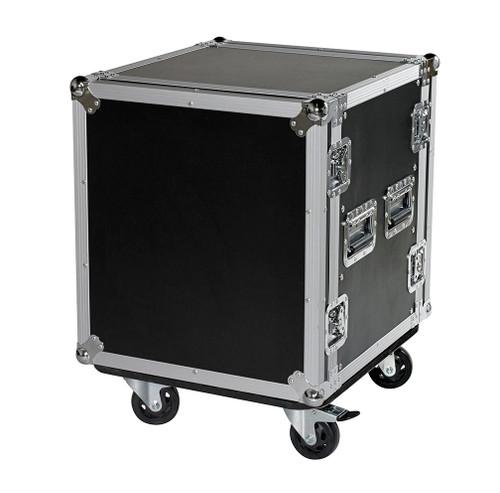 "12 Space 12u 18"" Deep Heavy Duty 3/8"" ATA Amp Rack Case - CLOSEOUT!"