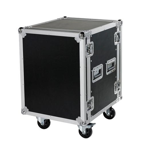 "14 Space 14u 18"" Deep Heavy Duty 3/8"" ATA Amp Rack Case - CLOSEOUT!"