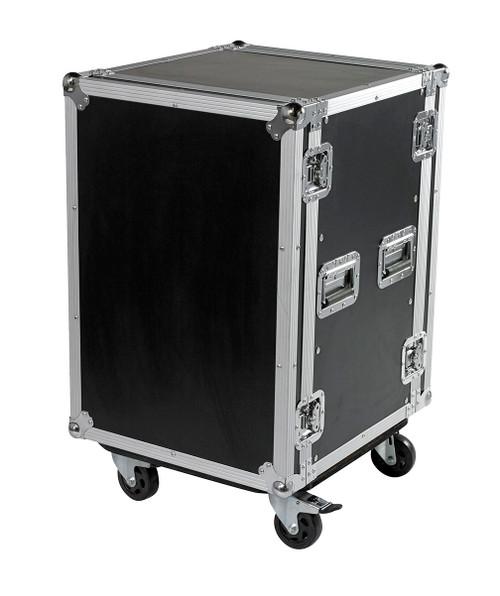 "16 Space 16u 18"" Deep Heavy Duty 3/8"" ATA Amp Rack Case - CLOSEOUT!"