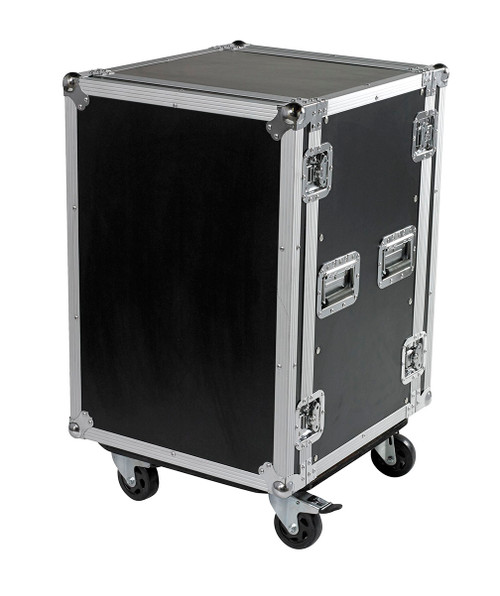 "16 Space 16u 18"" Deep Heavy Duty 3/8"" ATA Amp Rack Case - CLOSEOUT!"