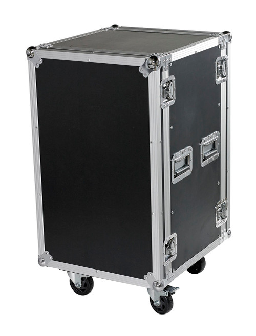 "18 Space 18u 18"" Deep Heavy Duty 3/8"" ATA Amp Rack Case - CLOSEOUT!"