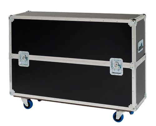 """Custom Single Plasma LCD ATA Cases Heavy Duty 3/8"""" Ply 71"""" - 80"""""""