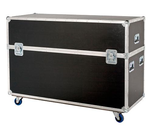 """Custom 2 in 1 Plasma LCD ATA Cases Heavy Duty 3/8"""" Ply 61"""" - 70"""""""