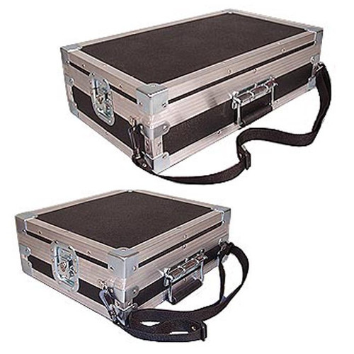"""Single Effects Pedal Units """"Over The Shoulder"""" Custom Made ATA Cases"""