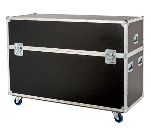 """Custom 2 in 1 Plasma LCD ATA Cases Heavy Duty 3/8"""" Ply 81"""" - 90"""""""