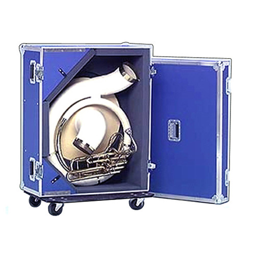 "Sousaphone ATA 3/8"" Professional Case with Wheels"