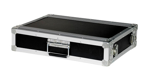 "2 Space 2u 12"" Deep 1/4"" Ply ATA Effects Rack Case - CLOSEOUT!"