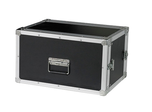"""6 Space 6u 12"""" Deep 1/4"""" Ply ATA Effects Rack Case - CLOSEOUT!"""