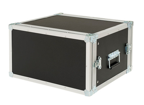"6 Space 6u 16"" Deep 1/4"" Ply ATA Amp Rack Case - CLOSEOUT!"