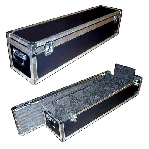 PAR - LED Lights ATA Road Case w/6 Removable Dividers - 3 Sizes!