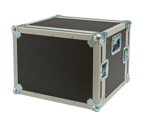 "8 Space 8u 15"" Deep 3/8"" Ply ATA Effects Rack Case"