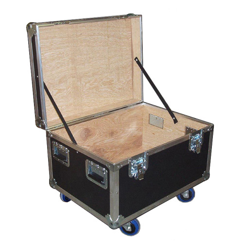 """Mini Size 30x22 ATA Cable Trunk - Standard High - 3/8"""" Ply w/Wheels"""