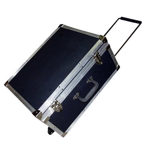 Accessory ATA Style Case w/Retractable Handle & Wheel System