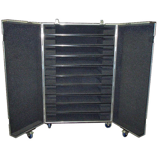 Plasma Flat Screens 10 In 1 Double Door ATA Case