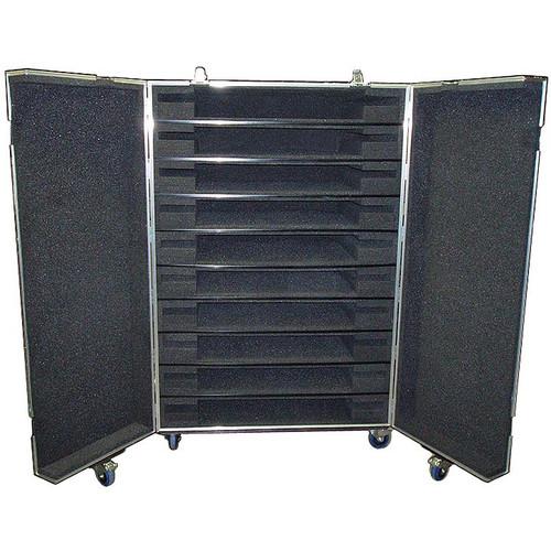 Plasma Flat Screens 10 In 1 Double Door ATA Case