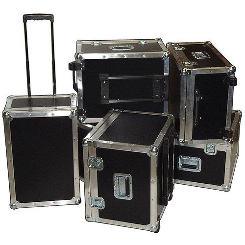 Accessory ATA Road Cases w/Retractable Handle & Wheels - 6 Sizes!