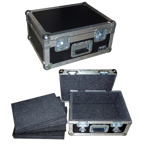 Projector Case Used Right Side Up Case (Handle Works Both Ways)