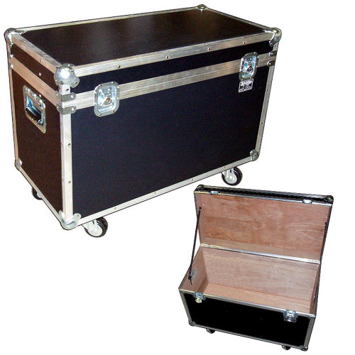 """BULLY"" Supply Trunks - 1/4"" Medium Duty ATA Case  w/Wheels"