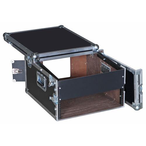 8U Over 3U Rack/Mixer ATA Case w/Top for Laptops, I Pads