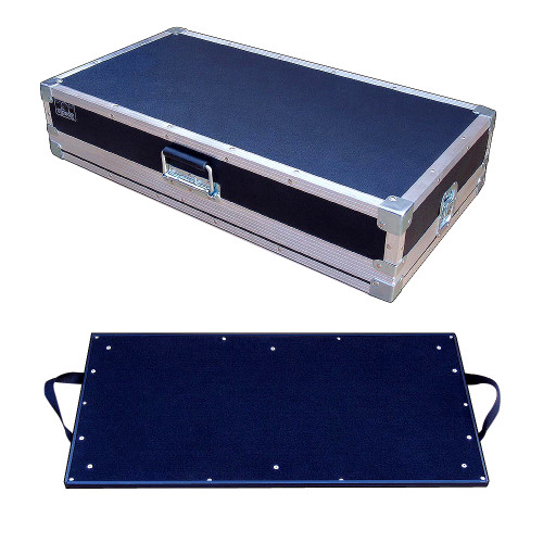 "Effect Pedal Board Inside 1/4"" Ply ATA Case - 3 Sizes Start @ $164.99"