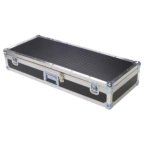 "Diamond Plate Laminate 1/4"" Medium Duty ATA Keyboard Case"
