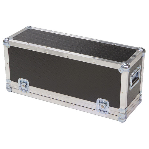 "Diamond Plate Laminate 1/4"" Medium Duty ATA Powered Mixer Case"