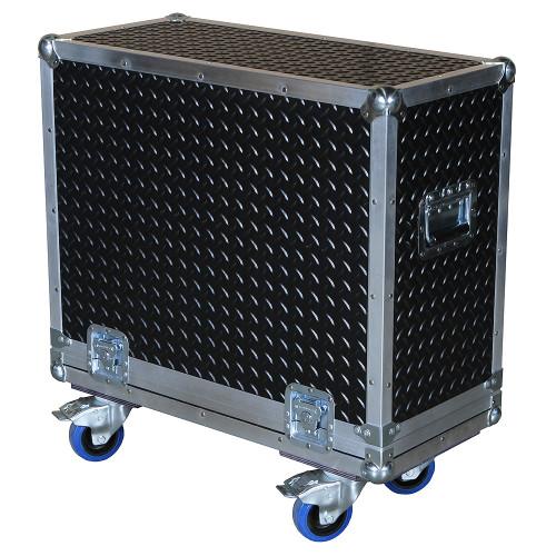 """Diamond Plate Laminate 3/8"""" Heavy Duty ATA Combo Amp Case"""