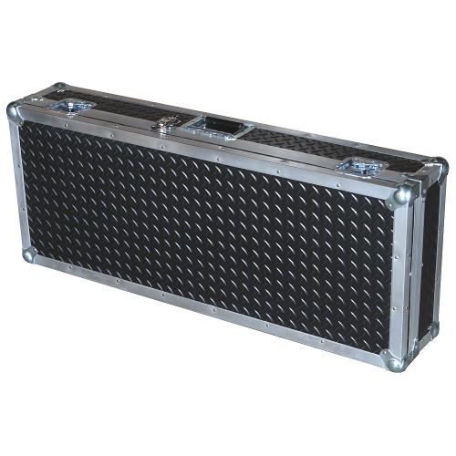 """Diamond Plate Laminate 3/8"""" Heavy Duty ATA Keyboard Case"""