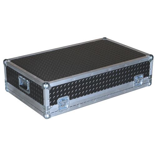 """Diamond Plate Laminate 3/8"""" Heavy Duty ATA Large Mixer Case"""