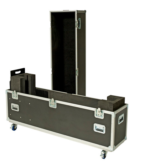 USER ADJUSTABLE ROAD CASE FITS 1 SCREEN BETWEEN 32-55''