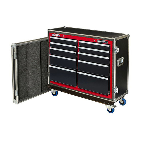 ATA Style Live In 10 Drawer Tool Cabinet