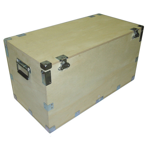 "Extra High Heavy Duty Crate Style Cable Trunk Inside Dimensions 44"" x 21"" x 25"""