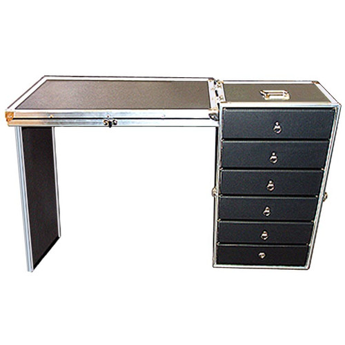 "Fantastic 6 Drawer ATA Work Case Wheels - Lids Converts to Work Surface Great for Parts, Supplies, Tools, Equipment, Accessories, Anything Outside Dimensions Closed 16"" x 13-1/2"" x 28-1/2"" All Recessed Hardware ATA Option"